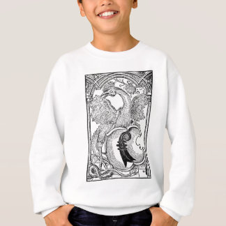 Winged Serpent Sweat Shirt