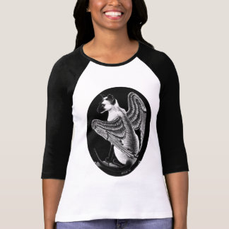WINGED SIAMESE CAT T-Shirt