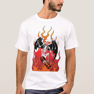 """Winged """"Skate Death"""" Men's T-shirt"""