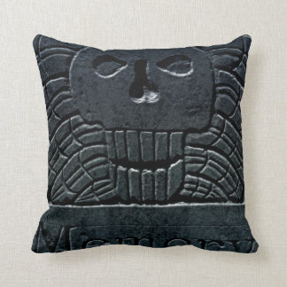 Winged Skull American MoJo Pillow