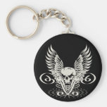 Winged Skull Key Chains