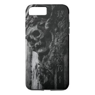 WINGED SKULL Macabre Stone iPhone 8 Plus/7 Plus Case
