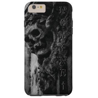 WINGED SKULL Macabre Stone Tough iPhone 6 Plus Case