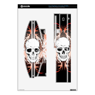 Winged Skull PS3 Console skin