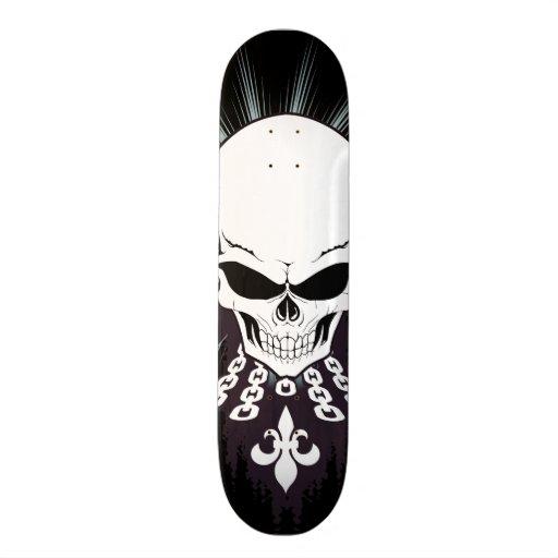 Winged Skull Skateboard