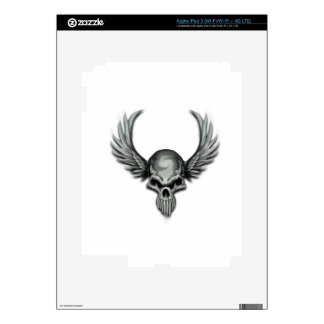 Winged Skull Skins For iPad 3