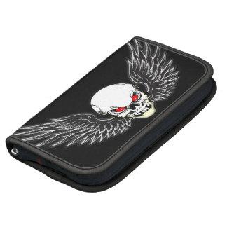 Winged Skull Smartphone Sleeve Folio Planners