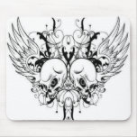 Winged Skulls Mousepad