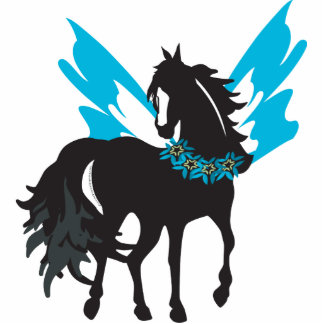 Winged Steed Cutout