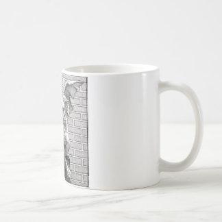 Winged Stone Gargoyle Classic White Coffee Mug