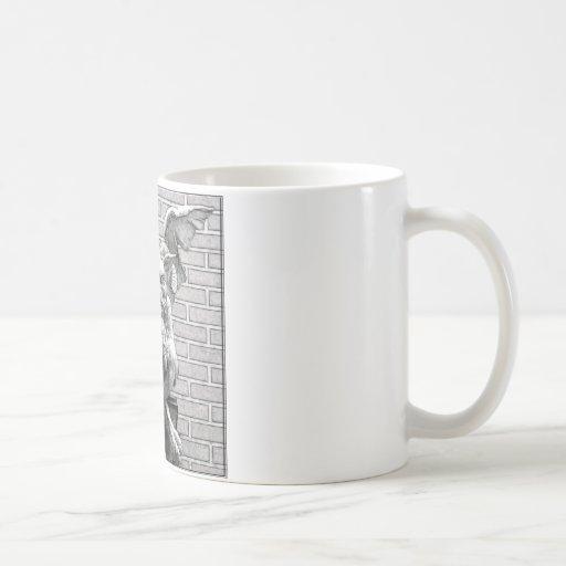 Winged Stone Gargoyle Coffee Mug