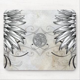 Winged Tattoo Celtic Gaelic Knot Mousepad