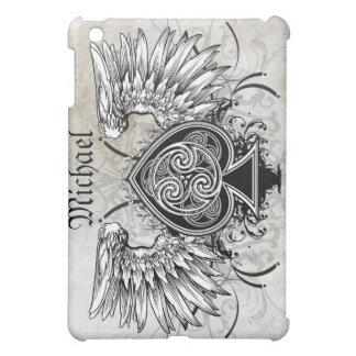 Winged Tattoo Celtic Knot Artistic Case Cover For The iPad Mini
