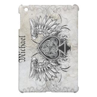 Winged Tattoo Celtic Knot Artistic Case iPad Mini Covers