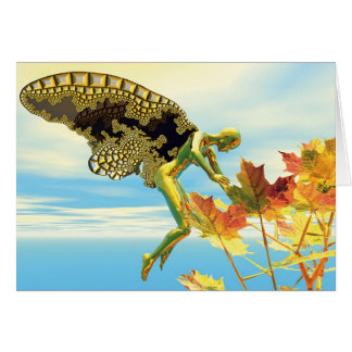 Winged Things - Autumn Splendor Card