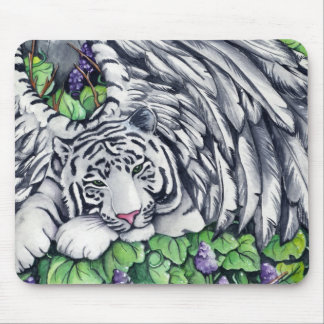 Winged Tiger Mouse Pad