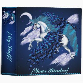 Winged Unicorn  binder_2_front.v4 Binder