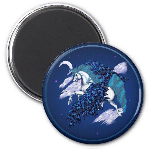 Winged Unicorn Magnets