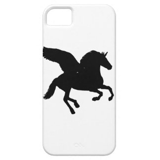 Winged Unicorn Silhouette iPhone 5 Cover