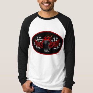 Winged Victory - Flying Tire T-Shirt