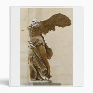 Winged Victory of Samothrace 3 Ring Binder