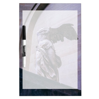 Winged Victory Of Samothrace, Louvre, Paris Dry Erase Board