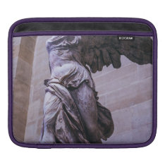 Winged Victory Of Samothrace, Louvre, Paris Ipad Sleeve at Zazzle