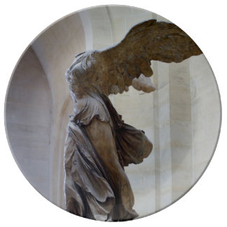 Winged Victory of Samothrace Porcelain Plate
