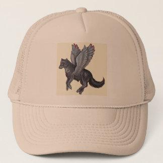 Winged Wolf Trucker Hat