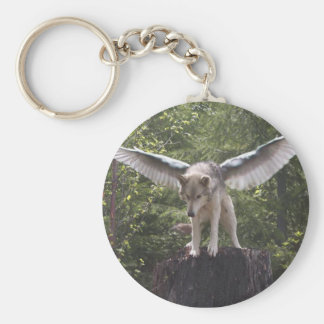 Winged Wolves Of Ga'hoolbe Keychain