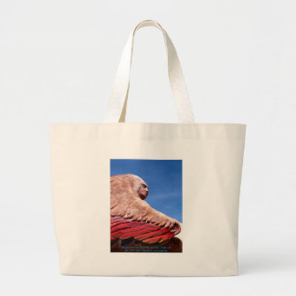 Winged Woman (1)/Bag Large Tote Bag