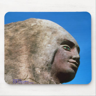 Winged Woman (Face)/Mousepad Mouse Pad