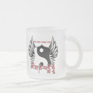 Winged Yin Yang Mantra Coffee Mugs