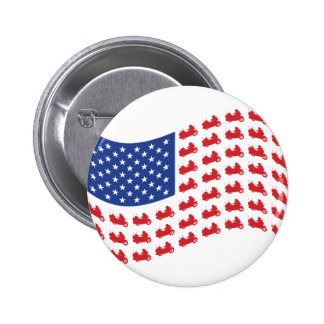 winger-flag-wave pinback button