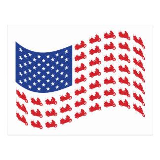 winger-flag-wave postcard