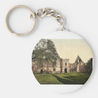 Wingfield Manor, II., Derbyshire, England rare Pho Keychain