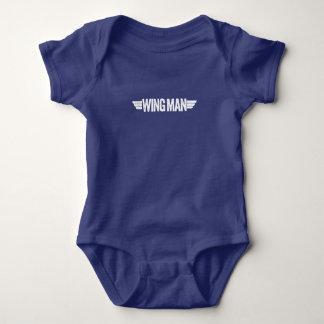 """""""Wingman"""" Baby Bodysuit"""