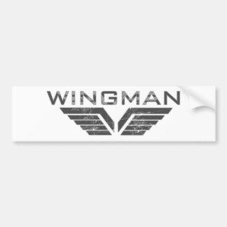 Wingman Bumper Sticker