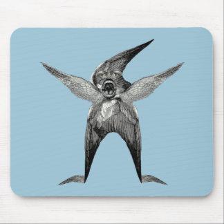 Wingman divertido Dada inspirado Mousepad
