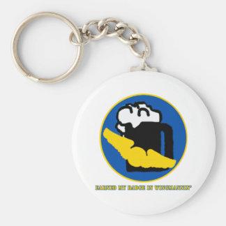 Wingman Merit Badge Basic Round Button Keychain
