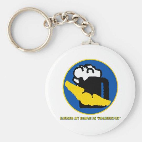 Wingman Merit Badge Keychain