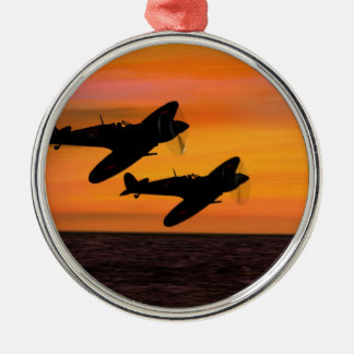 WINGMAN. METAL ORNAMENT