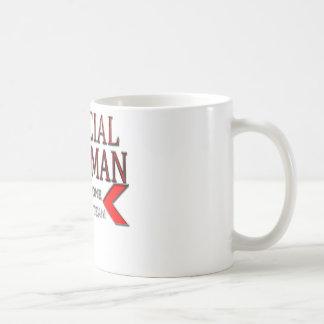 WingMan oficial que toma uno para el rojo del equi Taza De Café