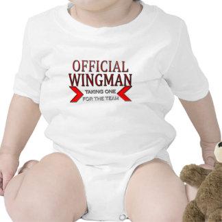 WingMan oficial que toma uno para el rojo del Trajes De Bebé