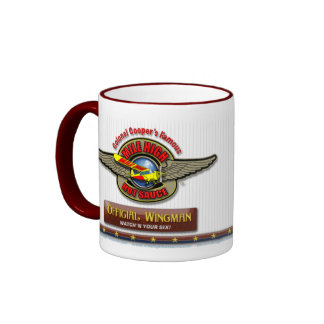 Wingman oficial taza de café