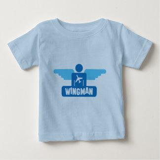 wingman pilot design baby T-Shirt