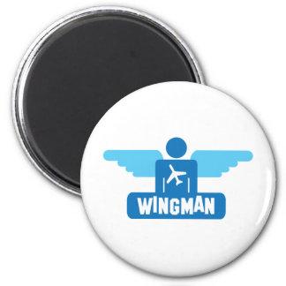 wingman pilot design magnet