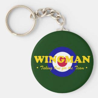 Wingman (RAF) Basic Round Button Keychain
