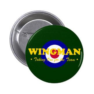 Wingman (RAF) Pinback Button