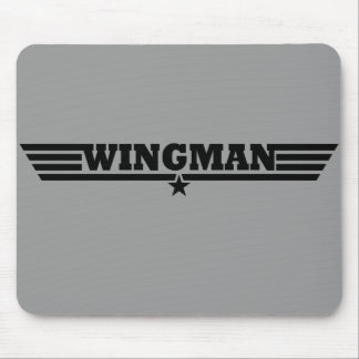 Wingman Wings Logo Mouse Pad